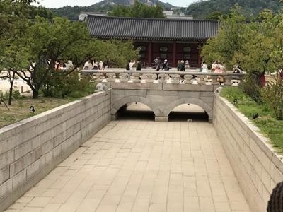 景福宮のお堀