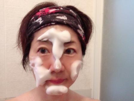 ポーラBA洗顔ウォッシュでの洗顔方法